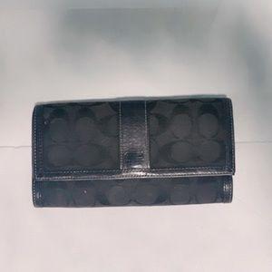 Coach wallet in black